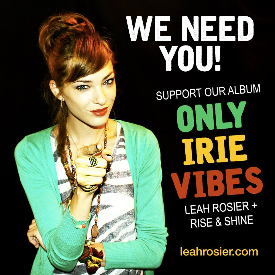 Reggae music by Leah Rosier
