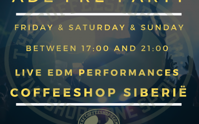 Join us at our ADE pre-parties!
